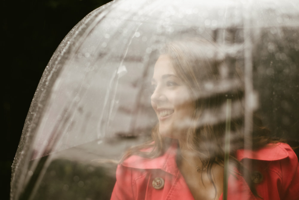 fall photography blogger rain autumn umbrella photo ideas