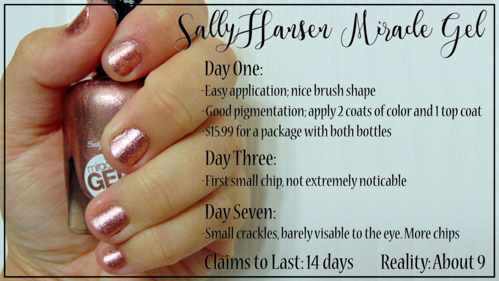 sally hansen gel nail polish