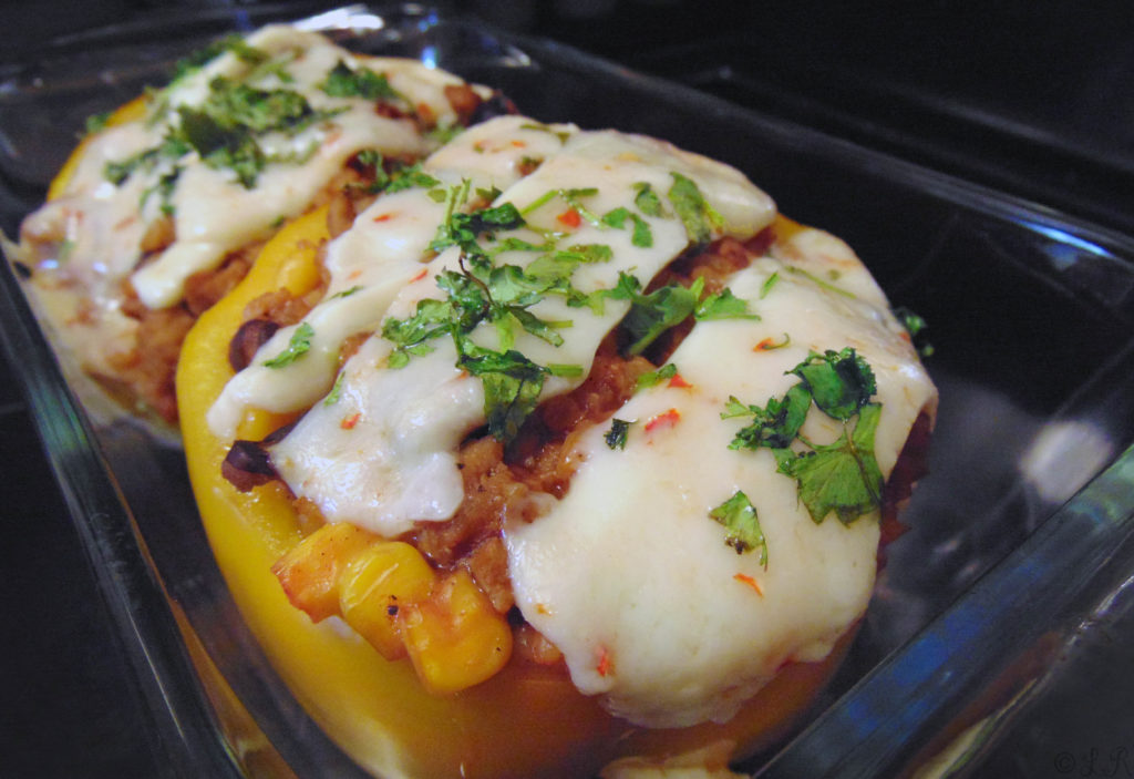 taco stuffed peppers healthy easy dinner