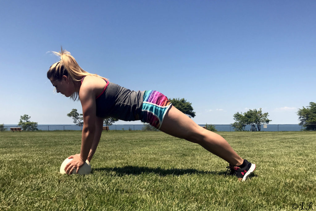 workout upper body core summer