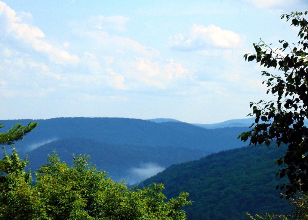 vermont hike summer