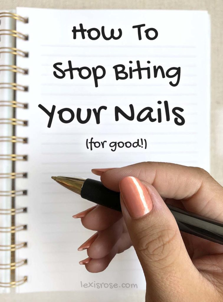 how to stop biting and strengthen nails