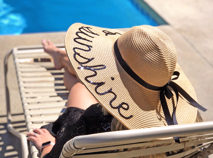 diy summer floppy beach hat personalized cheap easy diy