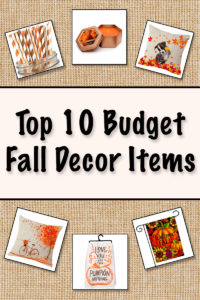 Top 10 Budget Fall Decorations