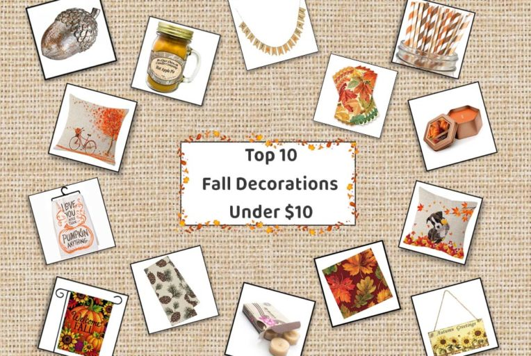 Top 10 Fall Decorations Under $10