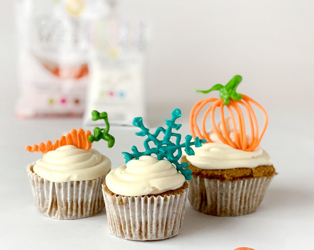 How To Make Candy Melts Cupcake Toppers