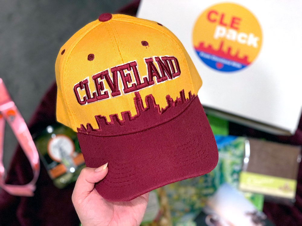 Cle Pack Cleveland Gift Idea Memorabilia Sports Food
