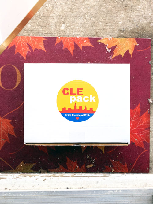 Cle Pack Cleveland gift idea food memorabilia sports