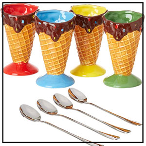 ice cream bowls