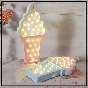 ice cream light decoration