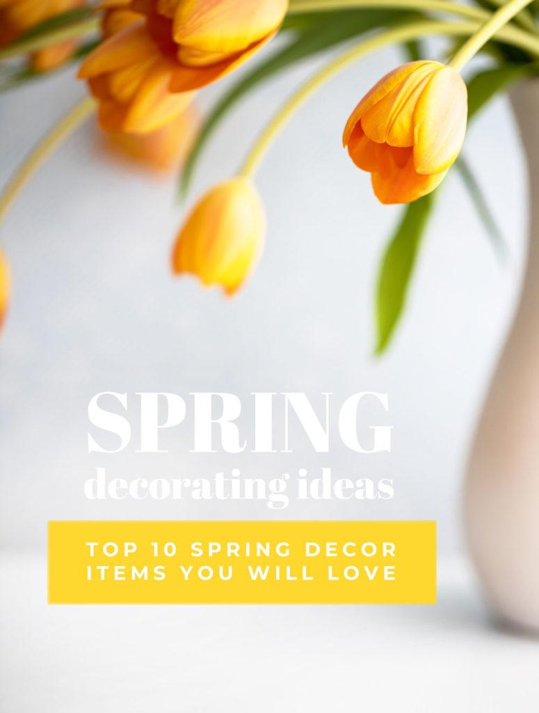 Spring Decorating Ideas #spring #decorating #ideas