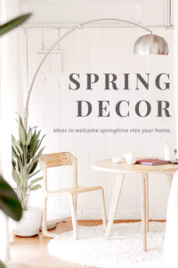 Spring decorating ideas. #spring #decorating #decor #ideas